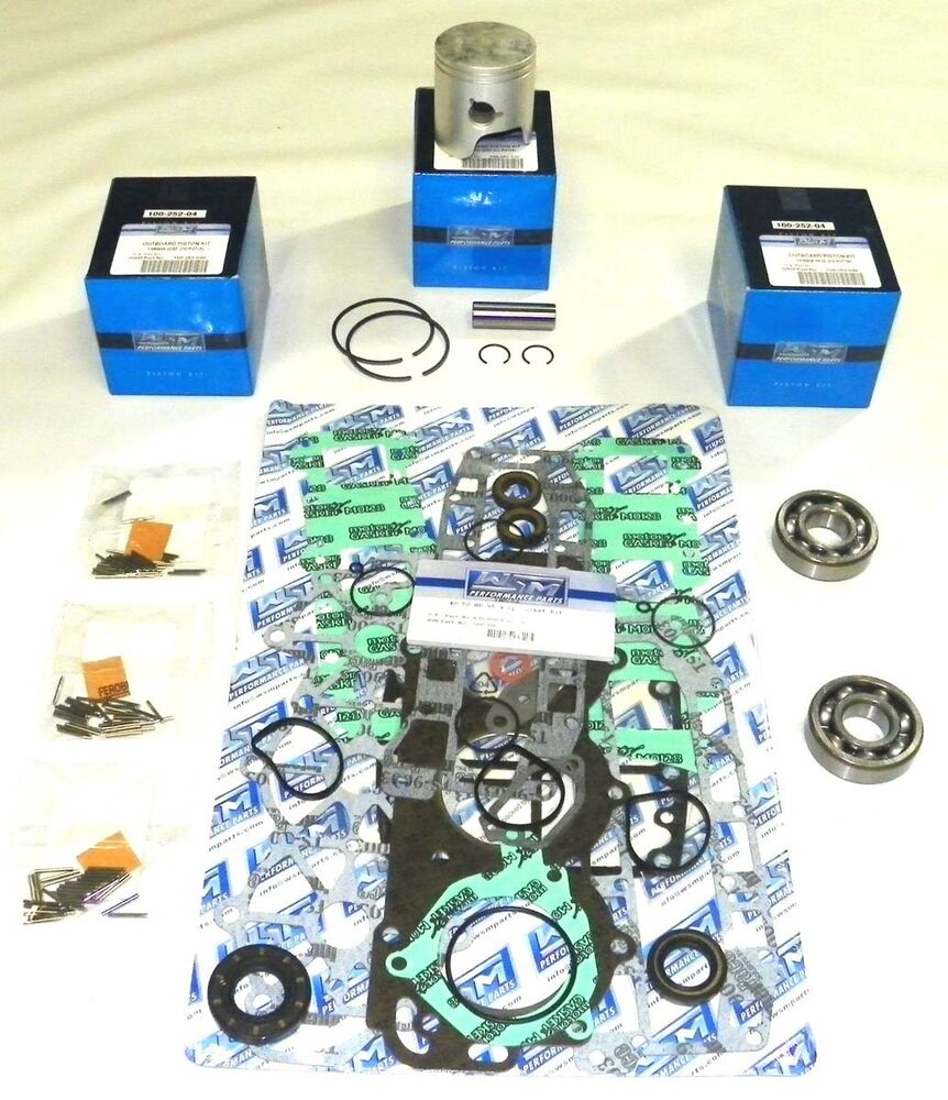 New yamaha 40 50 hp 3 cyl powerhead 1995 and up rebuild for Yamaha powerhead rebuild kit
