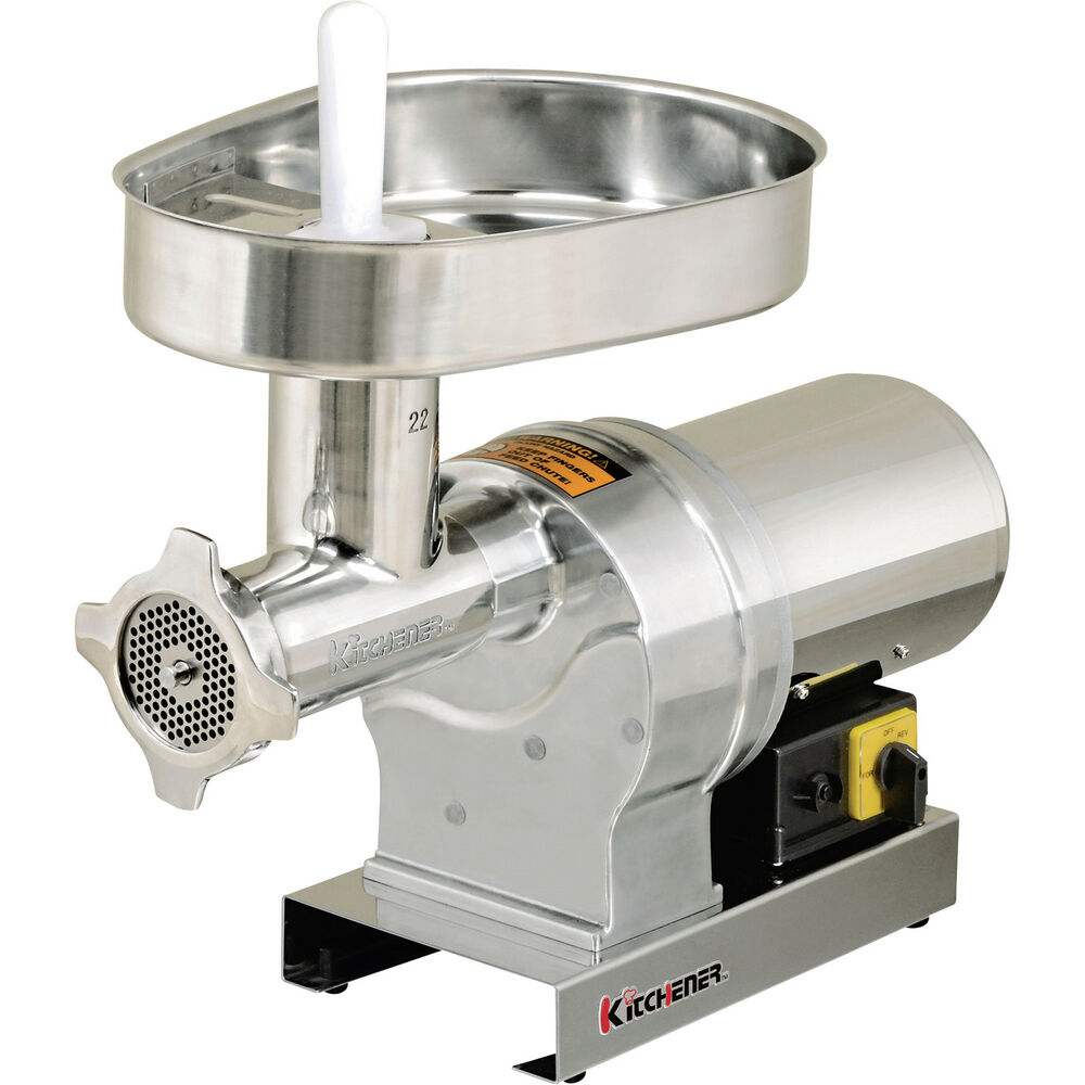 Small Electric Meat Grinder ~ Kitchener electric meat grinder stainless steel