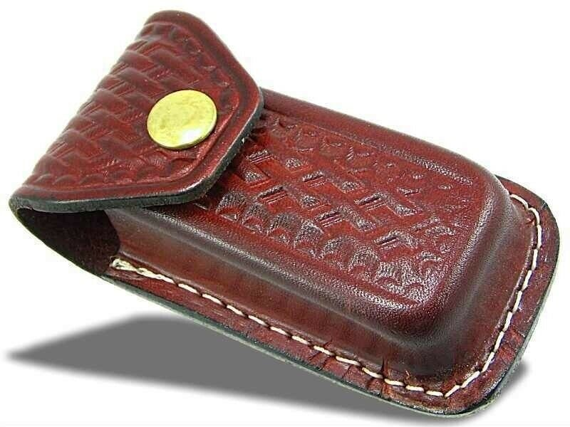 Extra Large Swiss Army Knife Style Leather Pouch Sheath