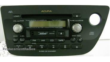 acura rsx cd6 cassette bose 1tj3 radio oem factory. Black Bedroom Furniture Sets. Home Design Ideas