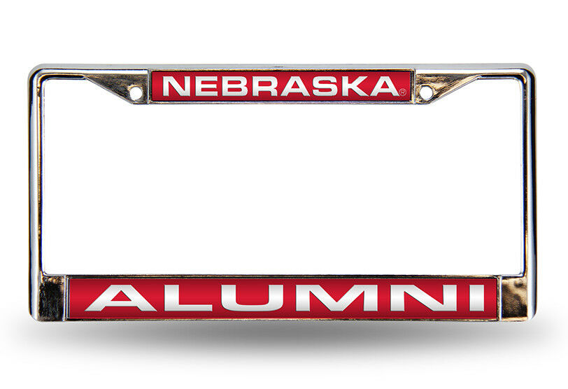 Nebraska Cornhuskers Ncaa Alumni Chrome Metal Laser Cut