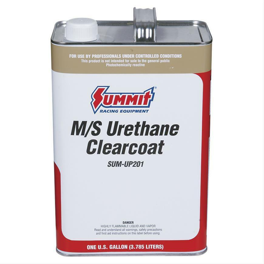 Summit Paint Single Stage Medium Solids Acrylic Urethane Gloss Clear Coat 1 Gal Ebay