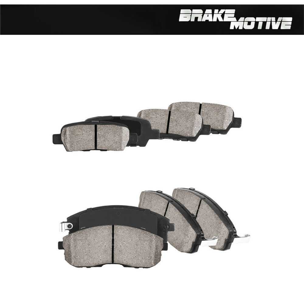 2004 Infiniti G35 Rotors: Front And Rear Ceramic Brake Pads Set For 2002 2003 2004