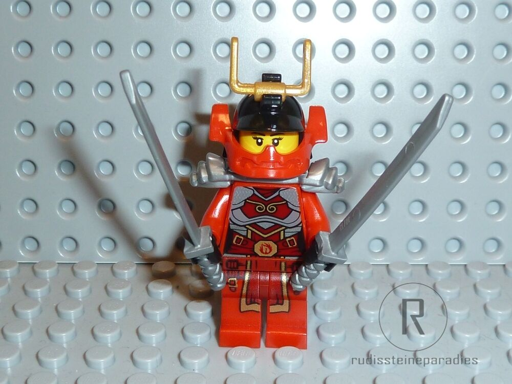 lego ninjago figur nya aus 70728 mit waffen kriegerin. Black Bedroom Furniture Sets. Home Design Ideas
