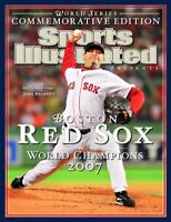 2007 Boston Red Sox Sports Illustrated SI POSTER World Series Champions Beckett