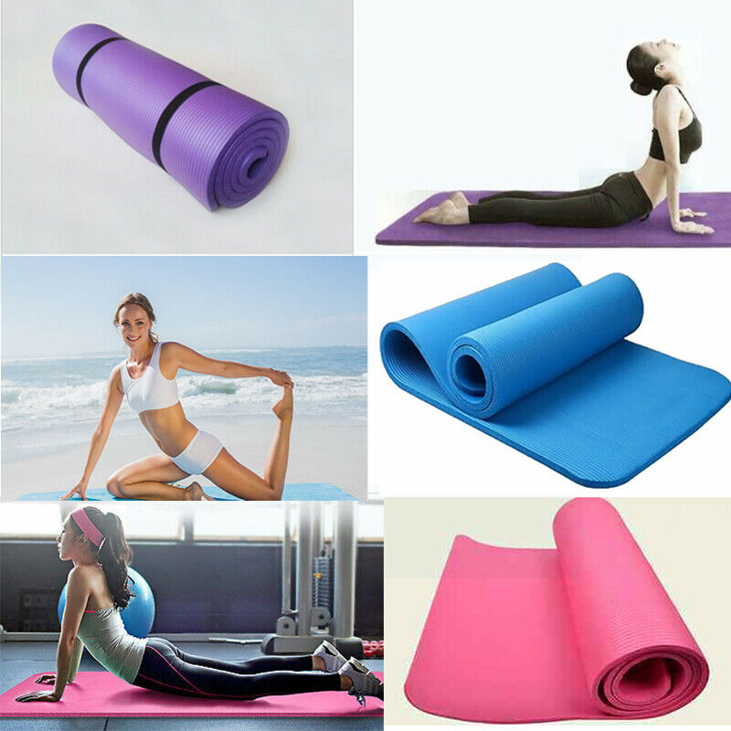 EVA Non-skid Exercise Fitness Lose Weight Yoga Mat Sleep