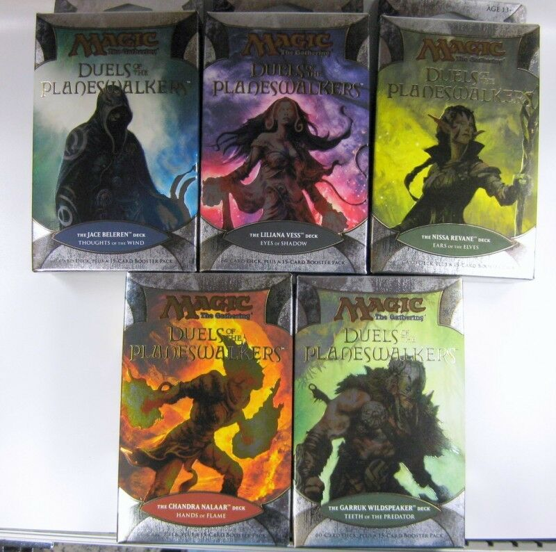 Duels of the Planeswalkers Deck Magic the Gathering MtG | eBay Planeswalker Ally Deck List