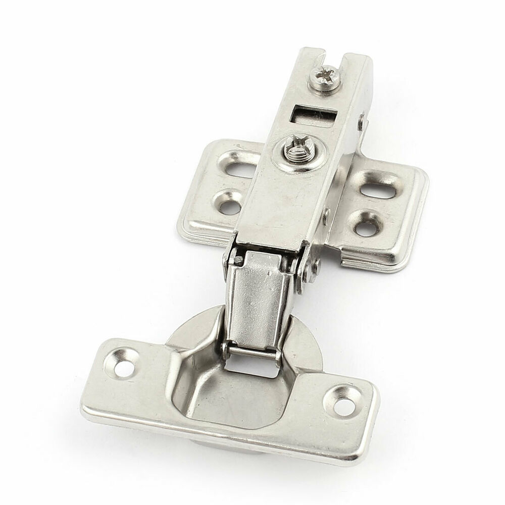 Cabinet stainless steel adjustable angle door concealed for Concealed door hinges