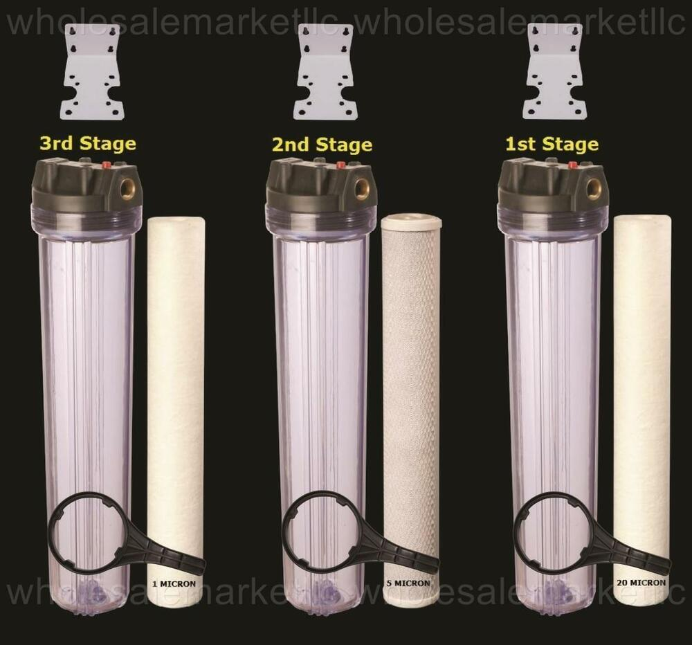 Whole House Water Filter Purifier Sediment Amp Cto Carbon 3