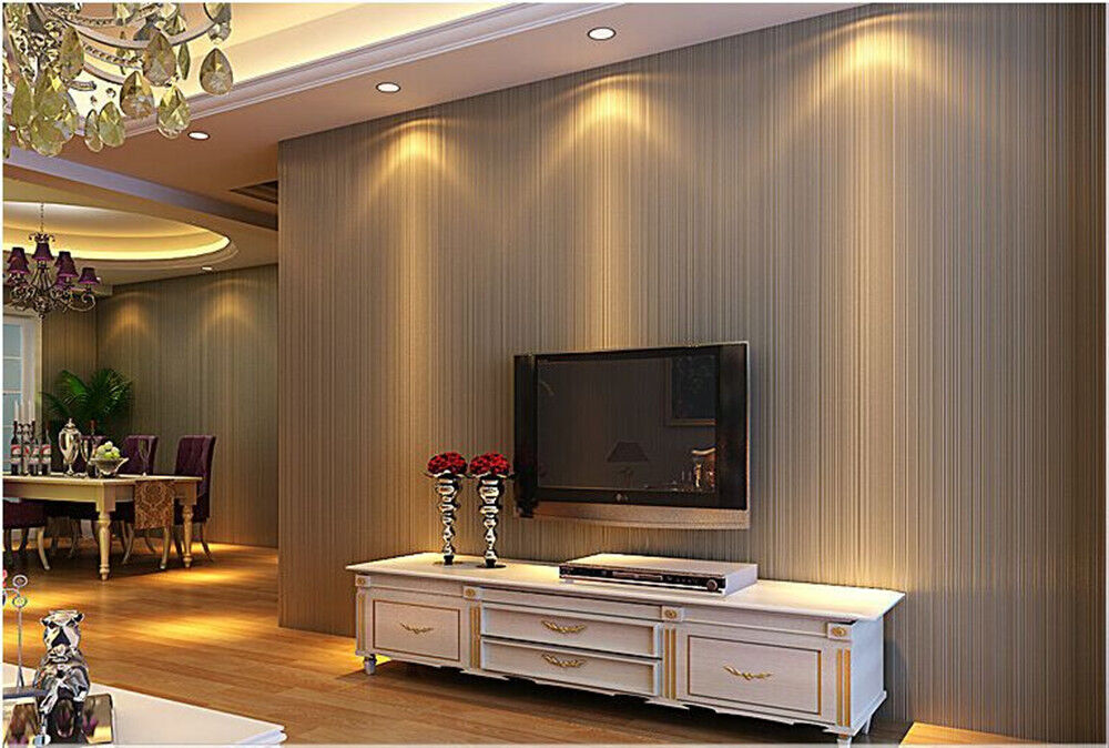 European style 3d wallpaper bedroom room modern non woven for 3d wallpaper in living room