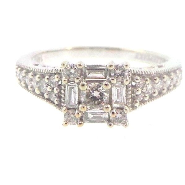 Ebay Diamond Rings White Gold