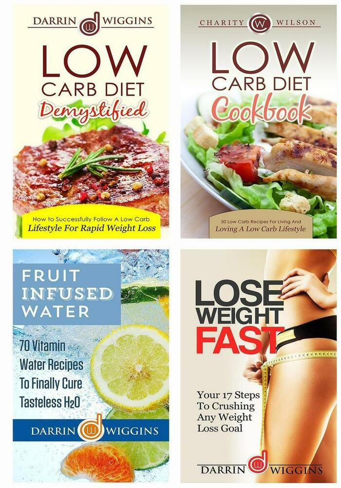 low carb diet box set weight loss edition low carb recipes fruit infused water 1508637024 ebay. Black Bedroom Furniture Sets. Home Design Ideas