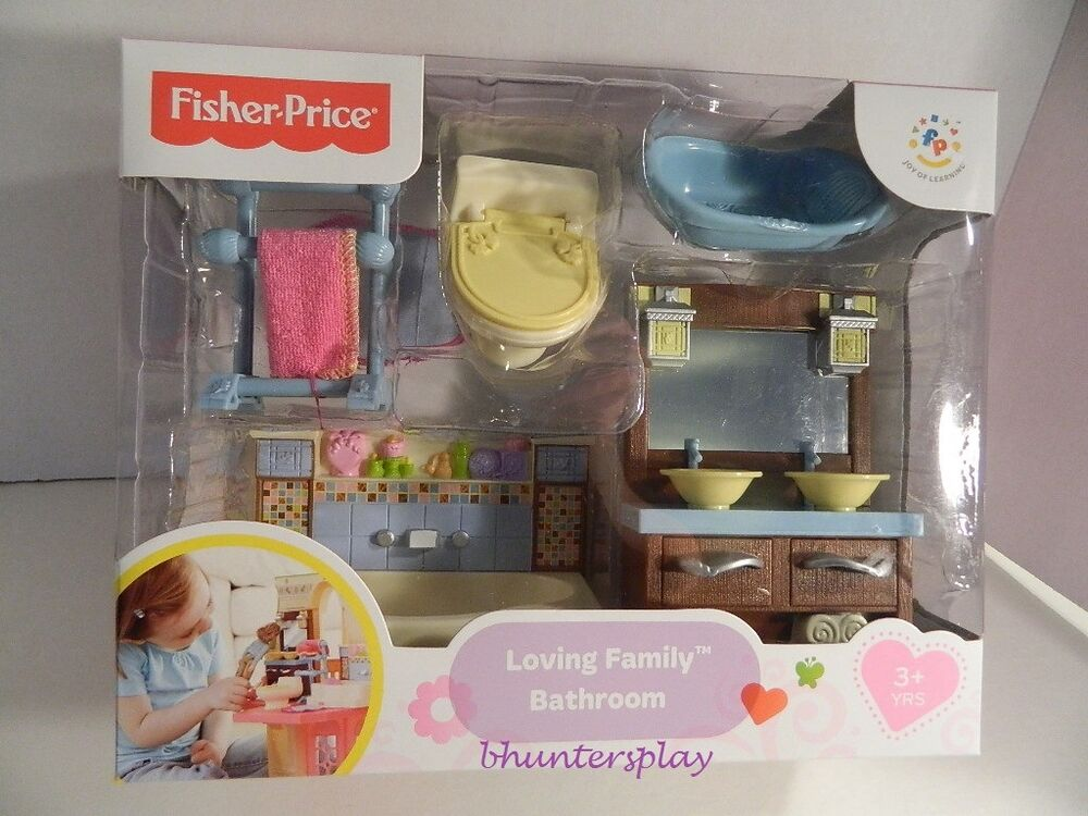 new loving family deluxe decor bathroom fisher price 2013 ebay