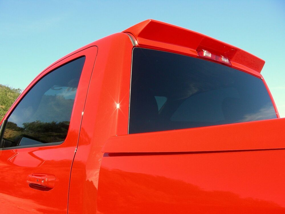 New Dodge Ram 1500 2500 3500 Aero Roof Spoiler Rumbler