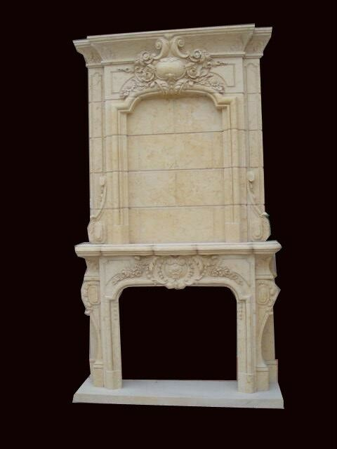 HAND CARVED MARBLE VICTORIAN FIREPLACE MANTEL FPM6 EBay