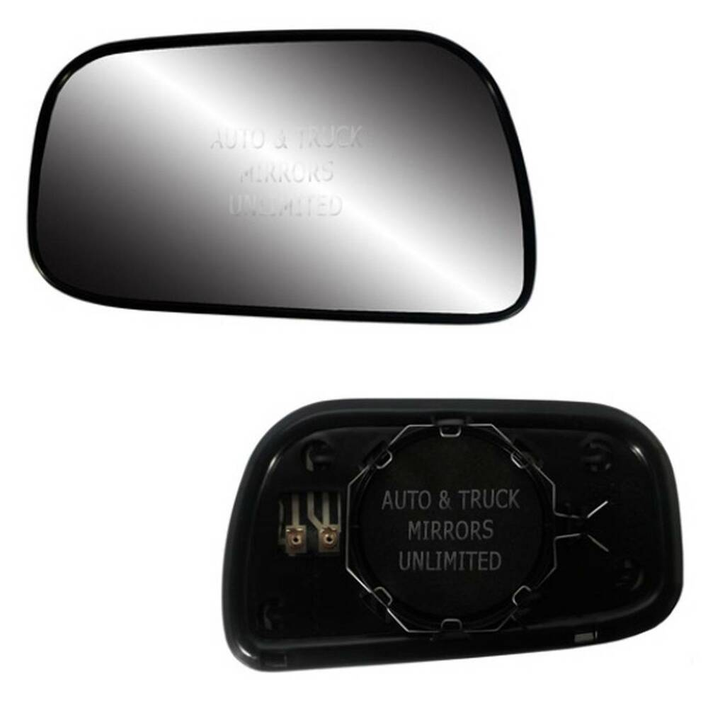 new mirror glass with backing heated 92 01 toyota camry. Black Bedroom Furniture Sets. Home Design Ideas