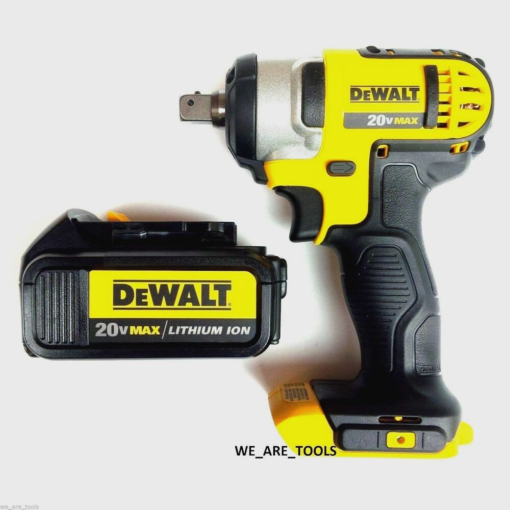 New Dewalt 20v Dcf880 Cordless 1 2 Quot Impact Wrench 1