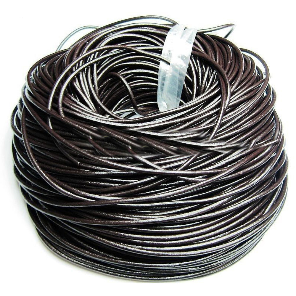 genuine leather cord thread for bracelet necklace jewelry
