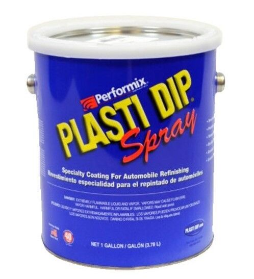 plasti dip 1 gallon matte clear ready to spray rubber dip coating. Black Bedroom Furniture Sets. Home Design Ideas
