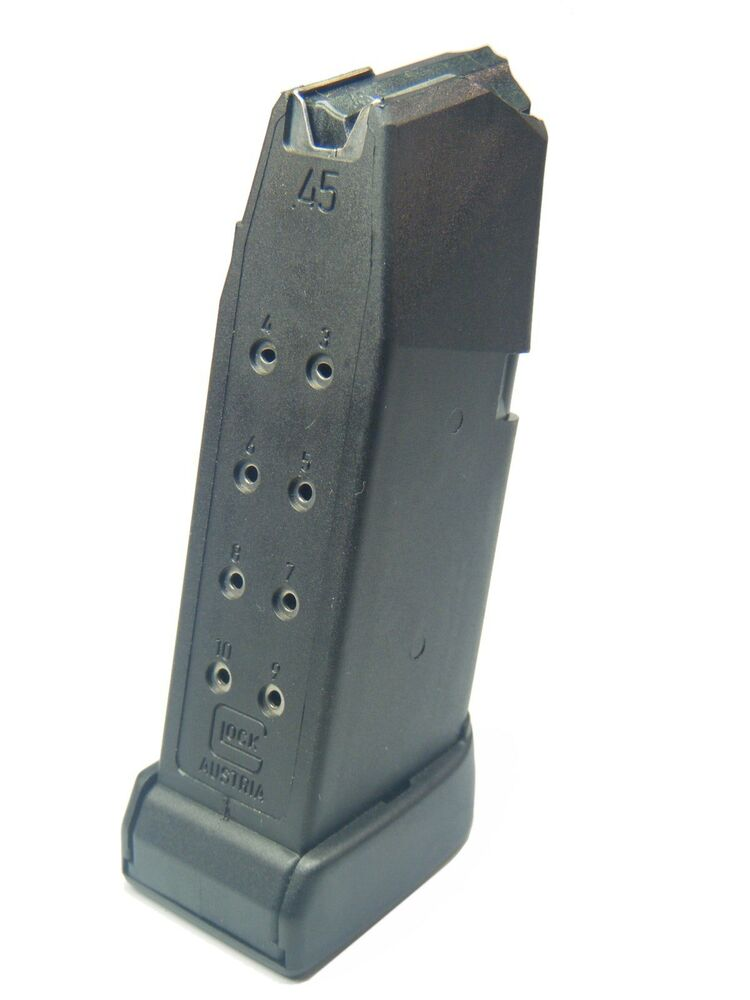 glock g30 45 auto pistol magazine mag clip 10 round 45 acp 10 rd gen 4 mf30010 ebay. Black Bedroom Furniture Sets. Home Design Ideas