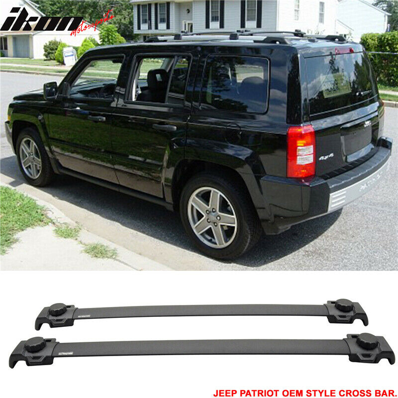 fits 07-15 jeep patriot oe style roof rack croos bar crossbar