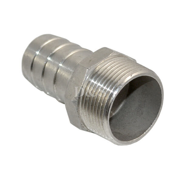 Quot male thread pipe fitting mm barb hose tail