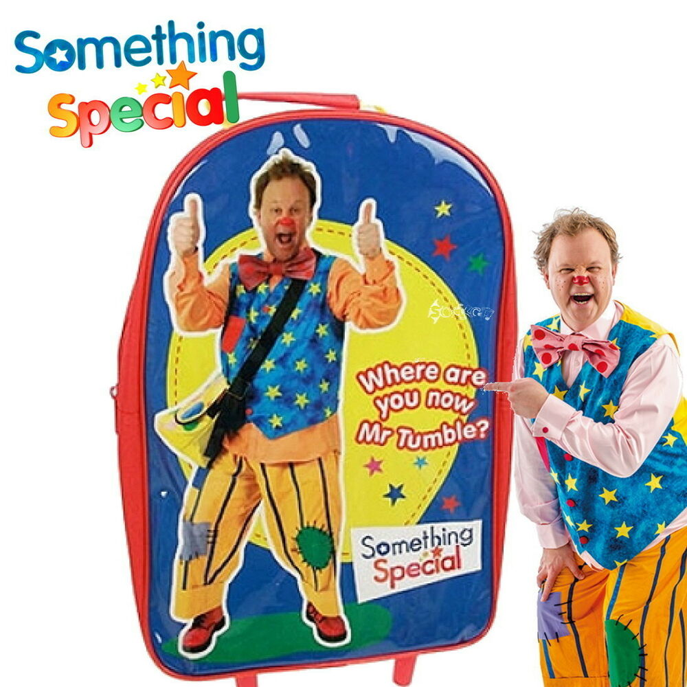 Official something special mr tumble trolley bag justin - Something special ...