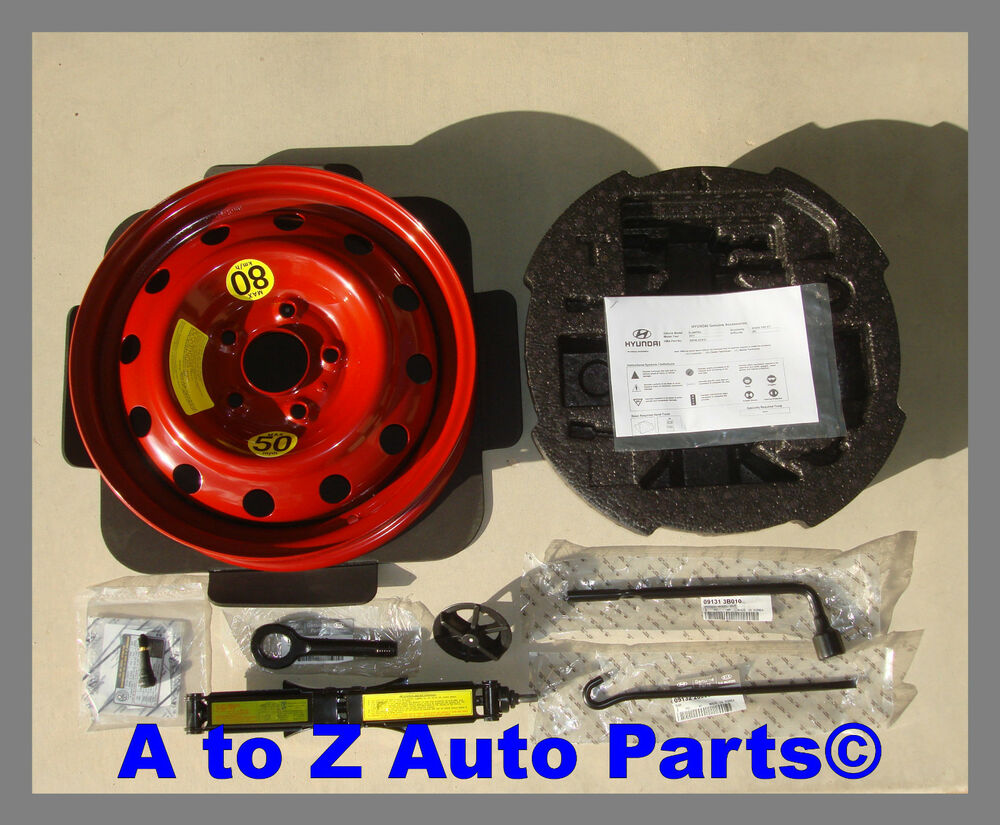new 2012 2015 hyundai veloster non turbo spare wheel jack kit oem hyundai ebay. Black Bedroom Furniture Sets. Home Design Ideas