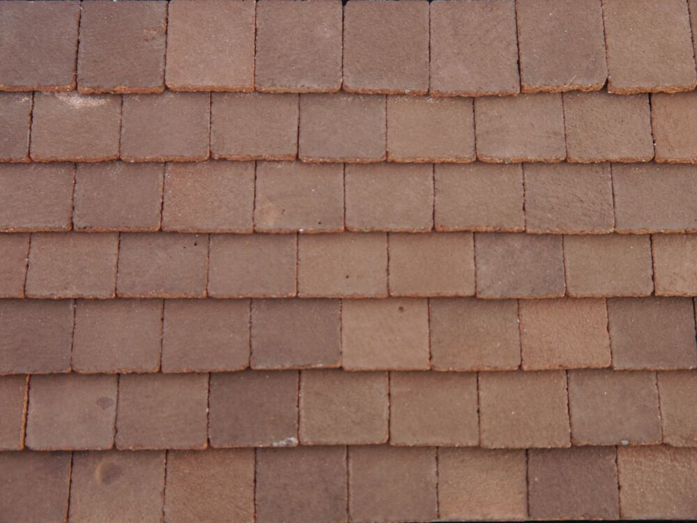250 Real Brick Miniature Conker Dolls House Roof Tiles Ebay