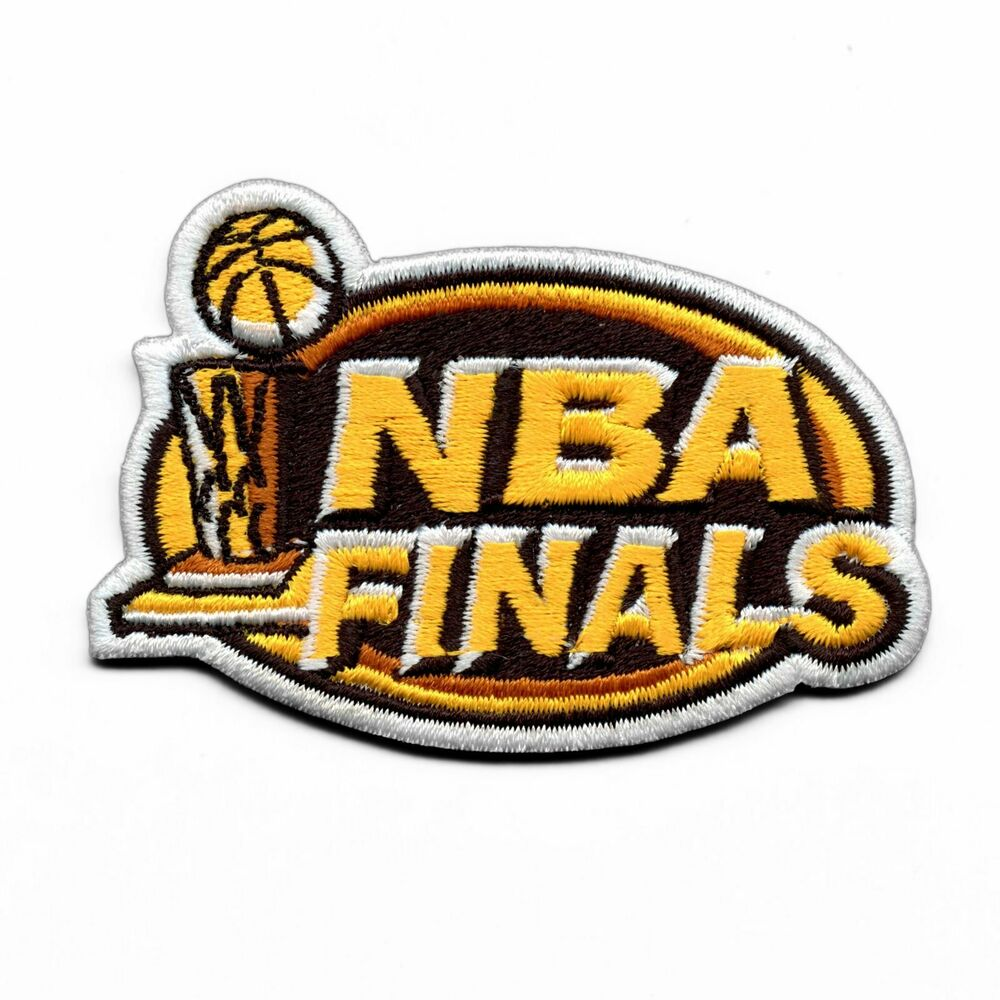 2000 & 2001 NBA FINALS Jersey Patch Los Angeles Lakers