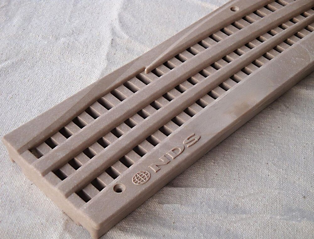 3 ft nds 555s mini wave channel deck drain sand grate ebay - Swimming pool deck drain channels ...