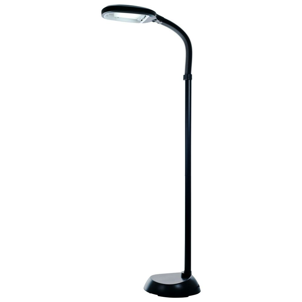 sunlight floor lamp 5 feet natural spectrum light therapy ebay. Black Bedroom Furniture Sets. Home Design Ideas