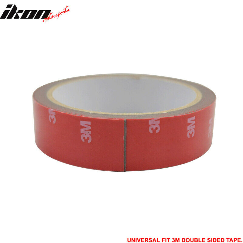 3m 1roll Double Sided Tape Body Kit Trim Moldings Abs Pvc