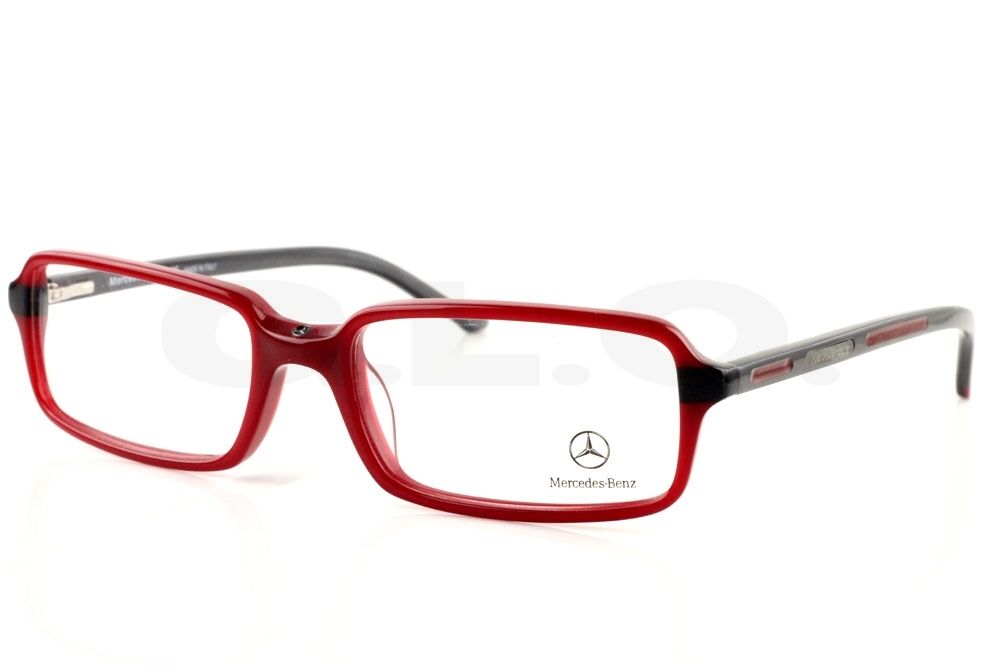 Eyeglass Frames Italian Designers : New Authentic Mercedes Benz 2701 Red 01 Designer ...