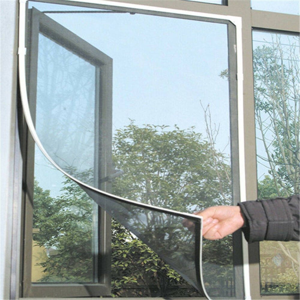 Window insect screen mesh net bug fly mosquito netting for Window insect screen