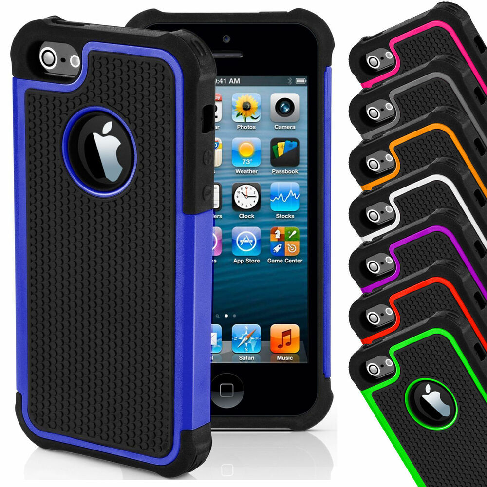 iphone 5s hard case shockproof cover for apple iphone 4s 5s 5c 6 7 8 14809