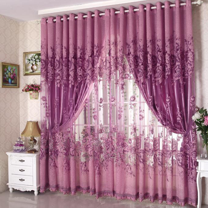 ... Tulle Window Screening Curtain Drape Scarfs Valances 2 Colors | eBay