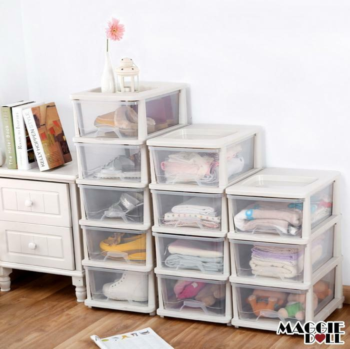 Plastic storage drawers shelves bedroom bathroom office - Bedroom storage cabinets with drawers ...