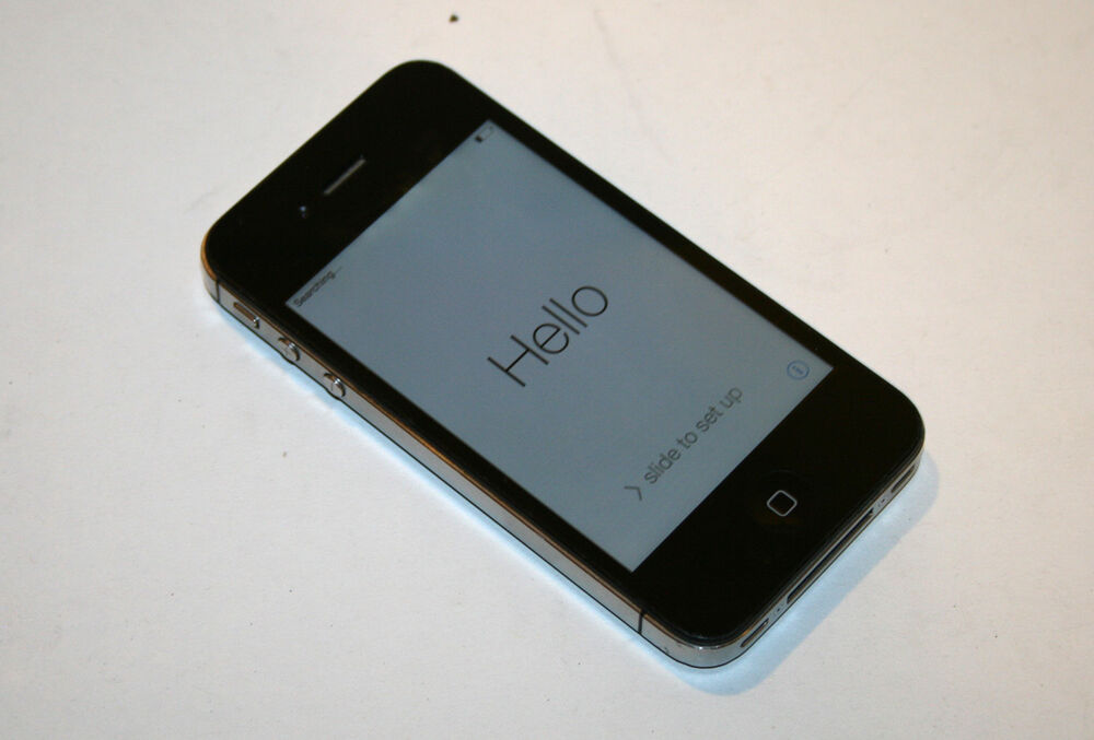 Apple iPhone 4S A1387 Apple ID Lock Black No Supply ...