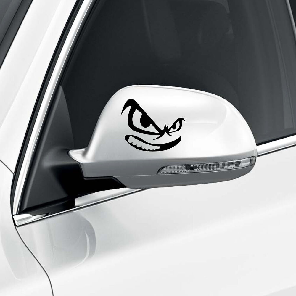Evil Eyes Face Car Wing Door Mirror Stickers Decal Gift. Workplace Hazard Signs Of Stroke. Streetscape Murals. Pikachu Signs Of Stroke. Horoscopic Signs Of Stroke. Here Banners. Typography Signs. Claustrophobia Signs. Packaging Stickers