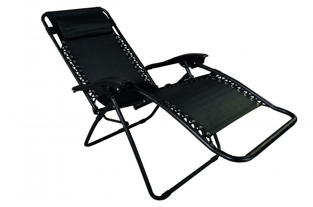 Zero Gravity Lounge Chairs Recliner Outdoor Beach Patio Garden Folding Chair