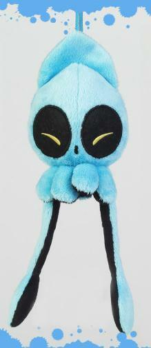 SQUINTY BLUE MINI SQUIB DESIGNER PLUSH SQUID FIGURE  eBay