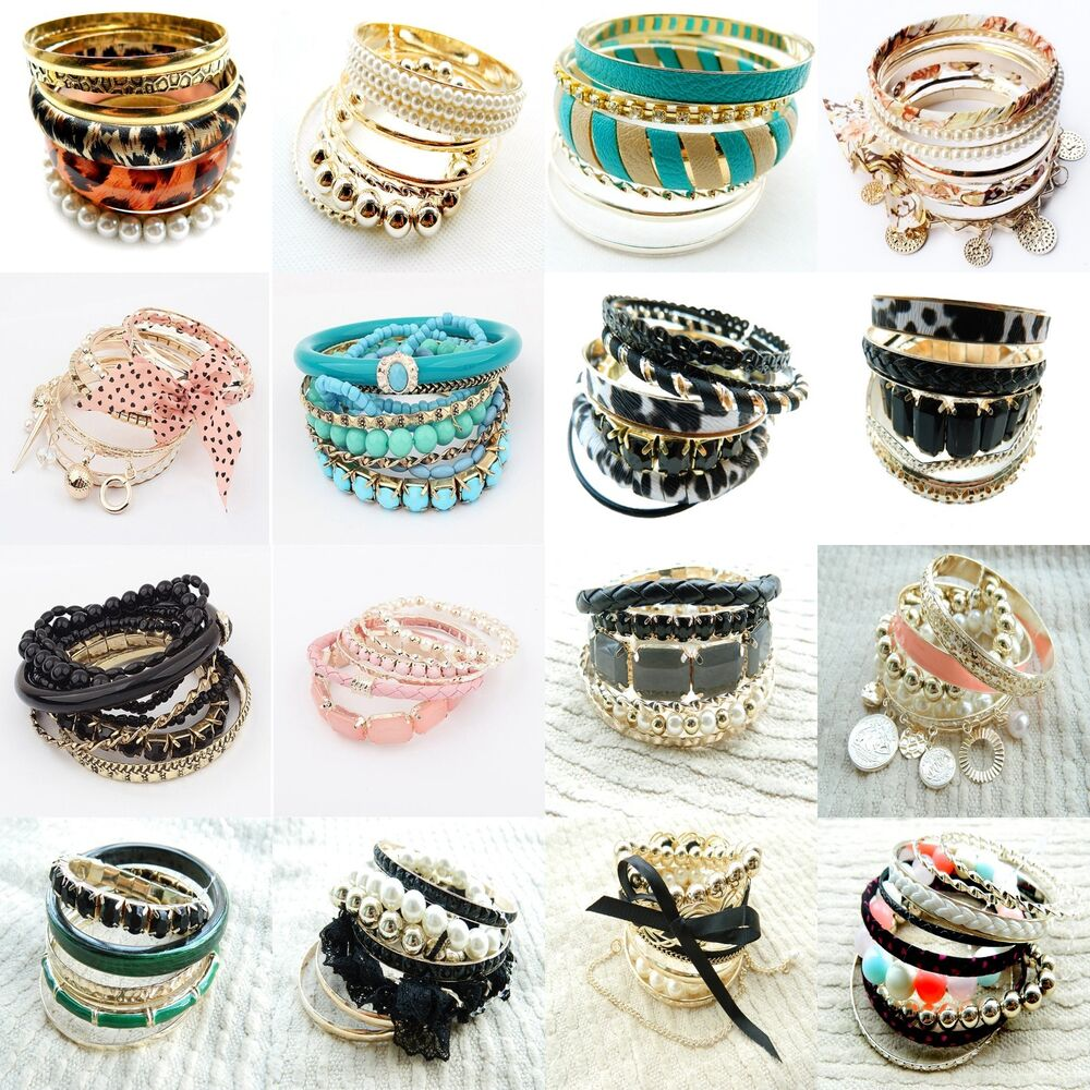Wholesale Lots Bulk Fashion Jewelry Multilayer Unique ...