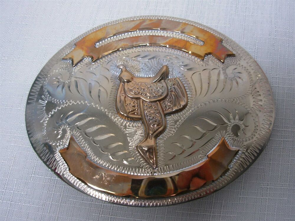 how to make a cowboy belt buckle