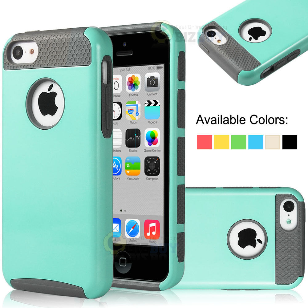 iphone 5c apple case for apple iphone 5c heavy duty hybrid rugged 6580