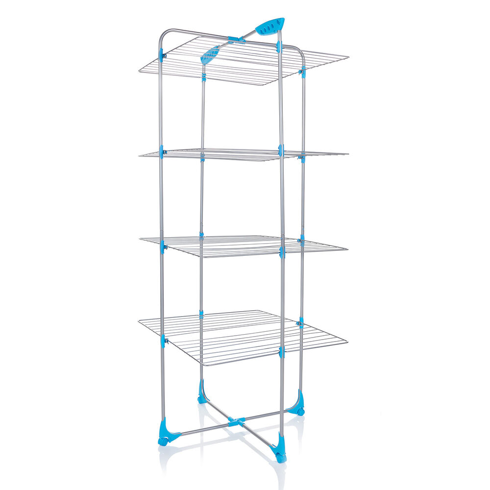 minky 40m tower airer clothes dryer free p p ebay. Black Bedroom Furniture Sets. Home Design Ideas
