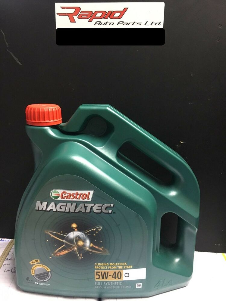 castrol magnatec 5w40 c3 fully synthetic car engine oil 4l. Black Bedroom Furniture Sets. Home Design Ideas