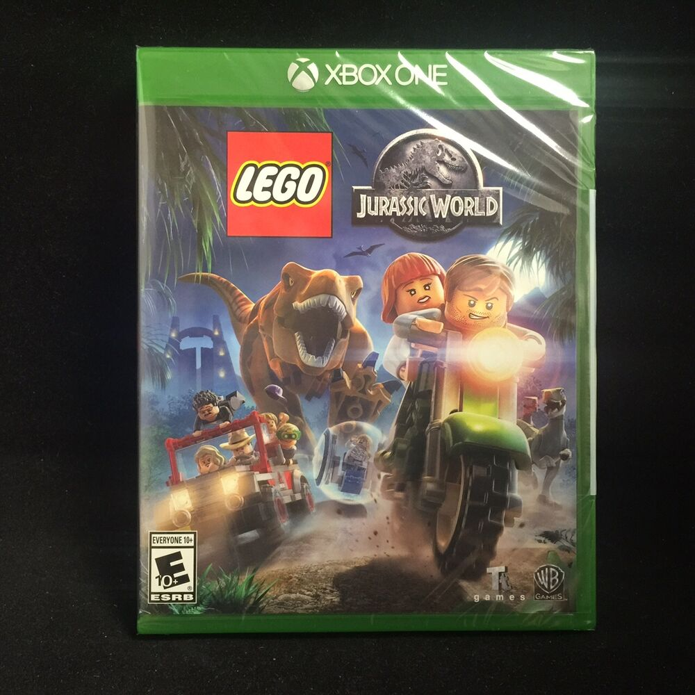 Lego Games For Xbox 1 : Lego jurassic world microsoft xbox one brand new