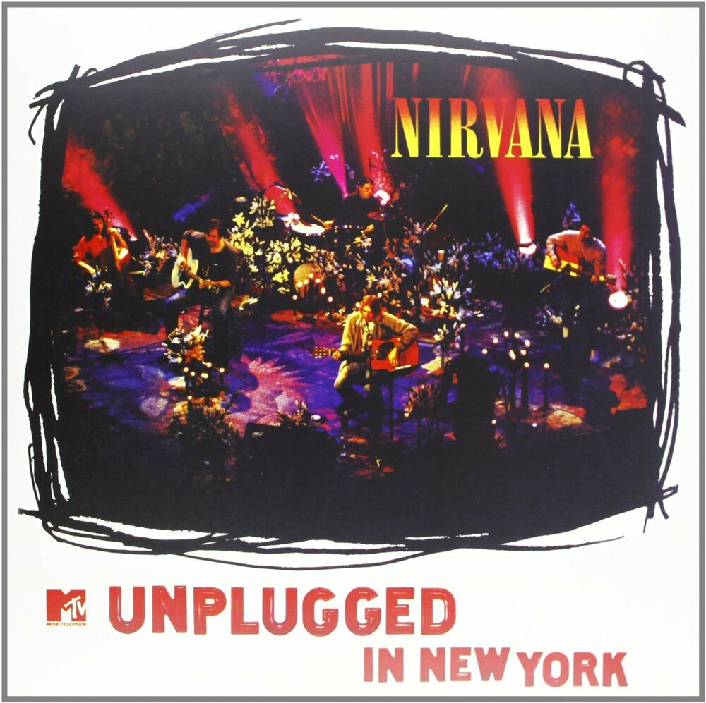 NIRVANA - MTV UNPLUGGED IN NEW YORK: CD ALBUM (1994 ...