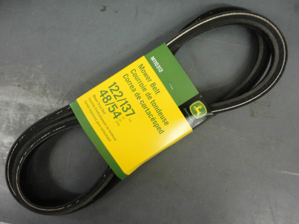 John Deere L120 Mower Deck Belt Installation : John deere genuine quot mower deck belt m lx
